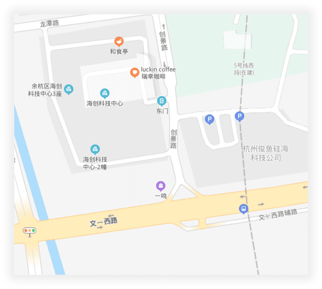 公司地理位置